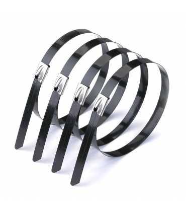 Kaplamalı Çelik Kablo Bağları (304 Kalite)