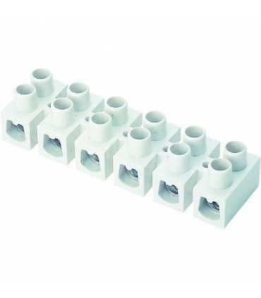 Plastik Sıra Klemens (Beyaz)