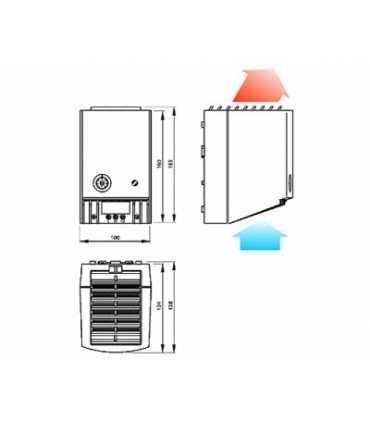 Dashboard PTC heaters thermostat (Fan)
