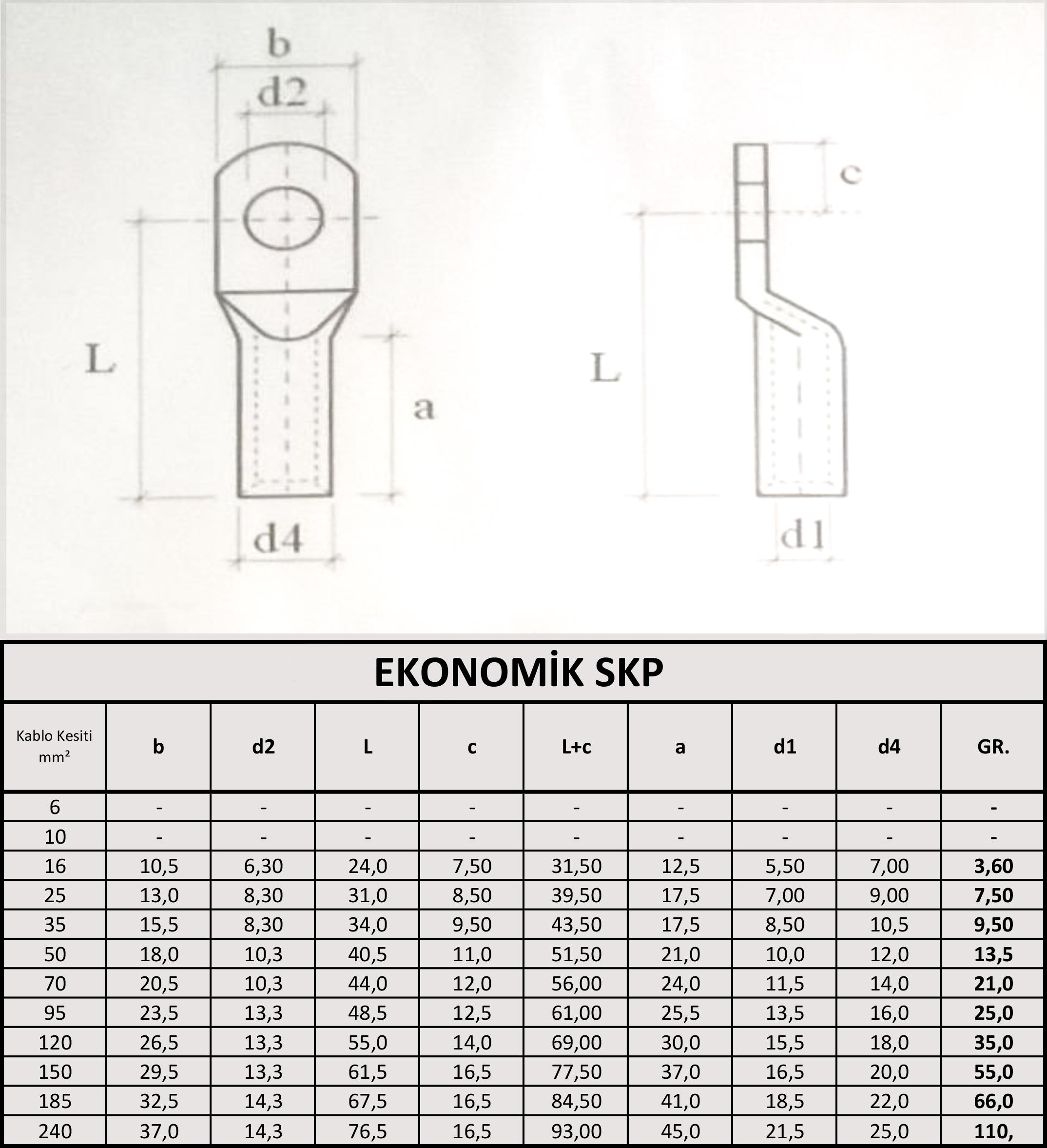 Ekonomik skp ölçüleri